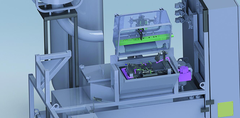 Erric Solutions Robotiques lance sa machine à laver intégrable au flux