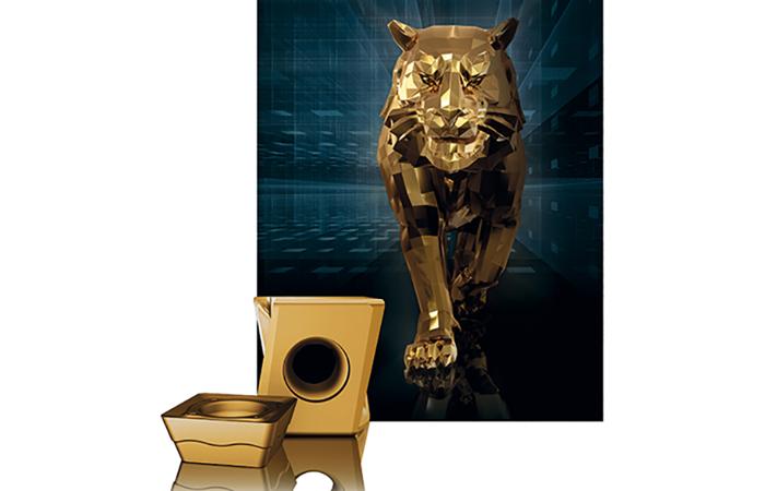 Revêtement or pour le tigre de Walter