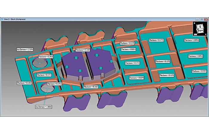 Vericut 8.1 simplifie la simulation d'une machine CNC