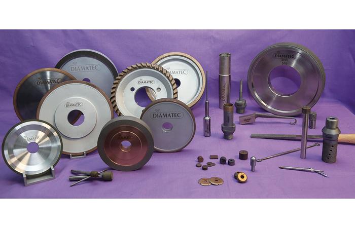 Gamme de meules et outils diamantés Diamatec