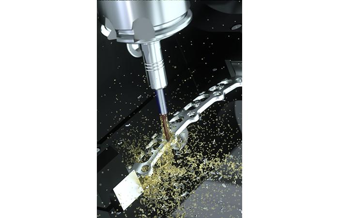 Fraises de finition Mikron Tool pour matériaux exigeants