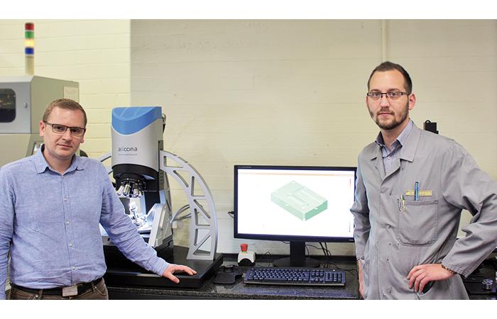 La mesure 3D optique Alicona fait référence en découpage