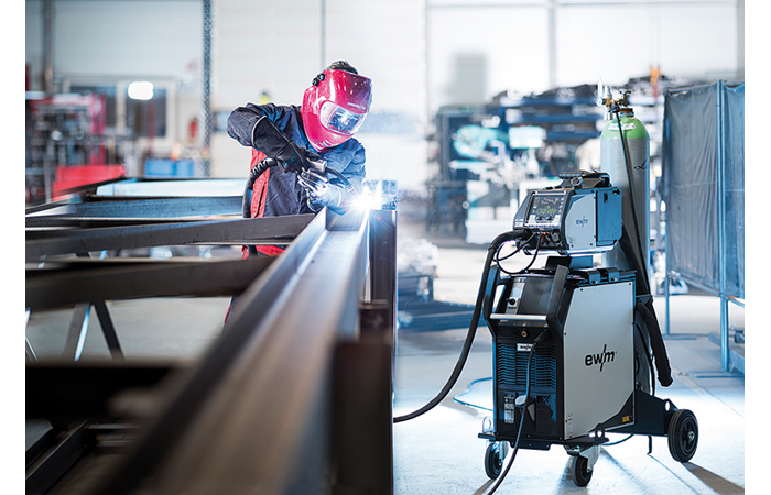 EWM présente le Welding 4.0 pour l'industrie et l'artisanat