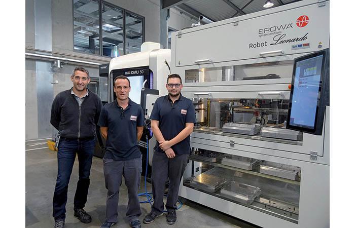 Robot Léonardo, au service d'une production diversifiée