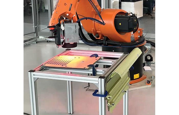 Scanner haute définition pour l'inspection automatisée