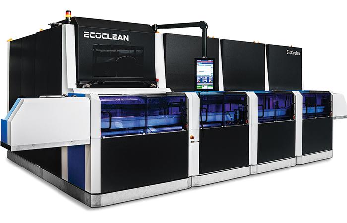 Ebavurage HP et nettoyage BP en première chez Ecoclean