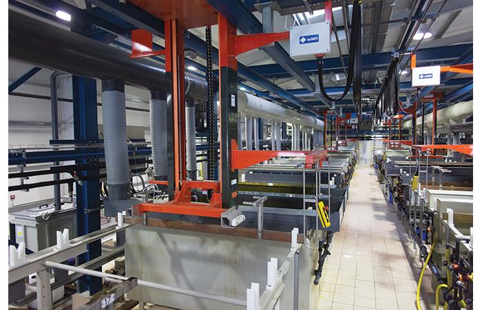 Dedienne Multiplasturgy renforce ses capacités de métallisation et décoration