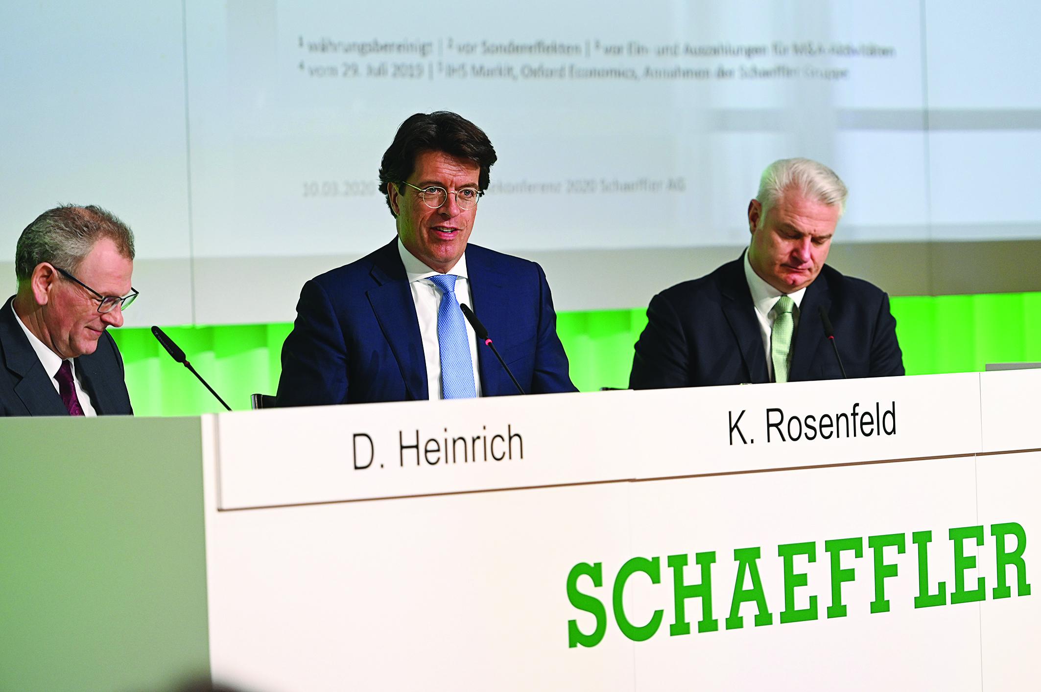 Schaeffler prudent sur les perspectives de ses deux divisions