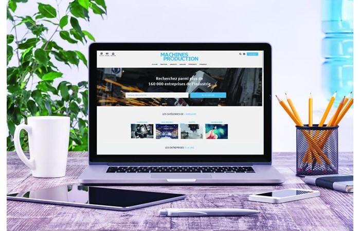 Un nouveau site pour Machines Production
