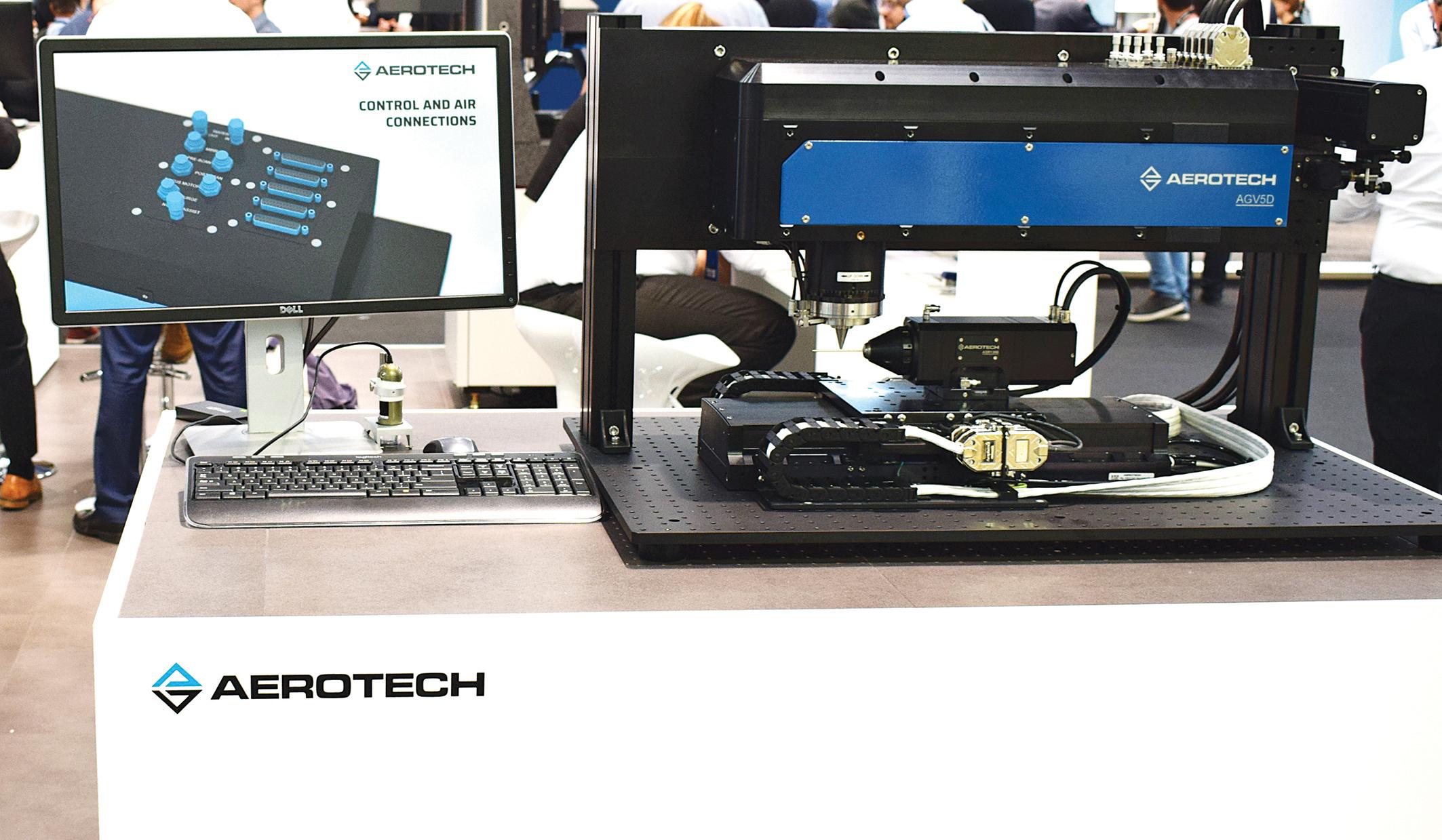 Aerotech propose le micro-usinage 5 axes par laser