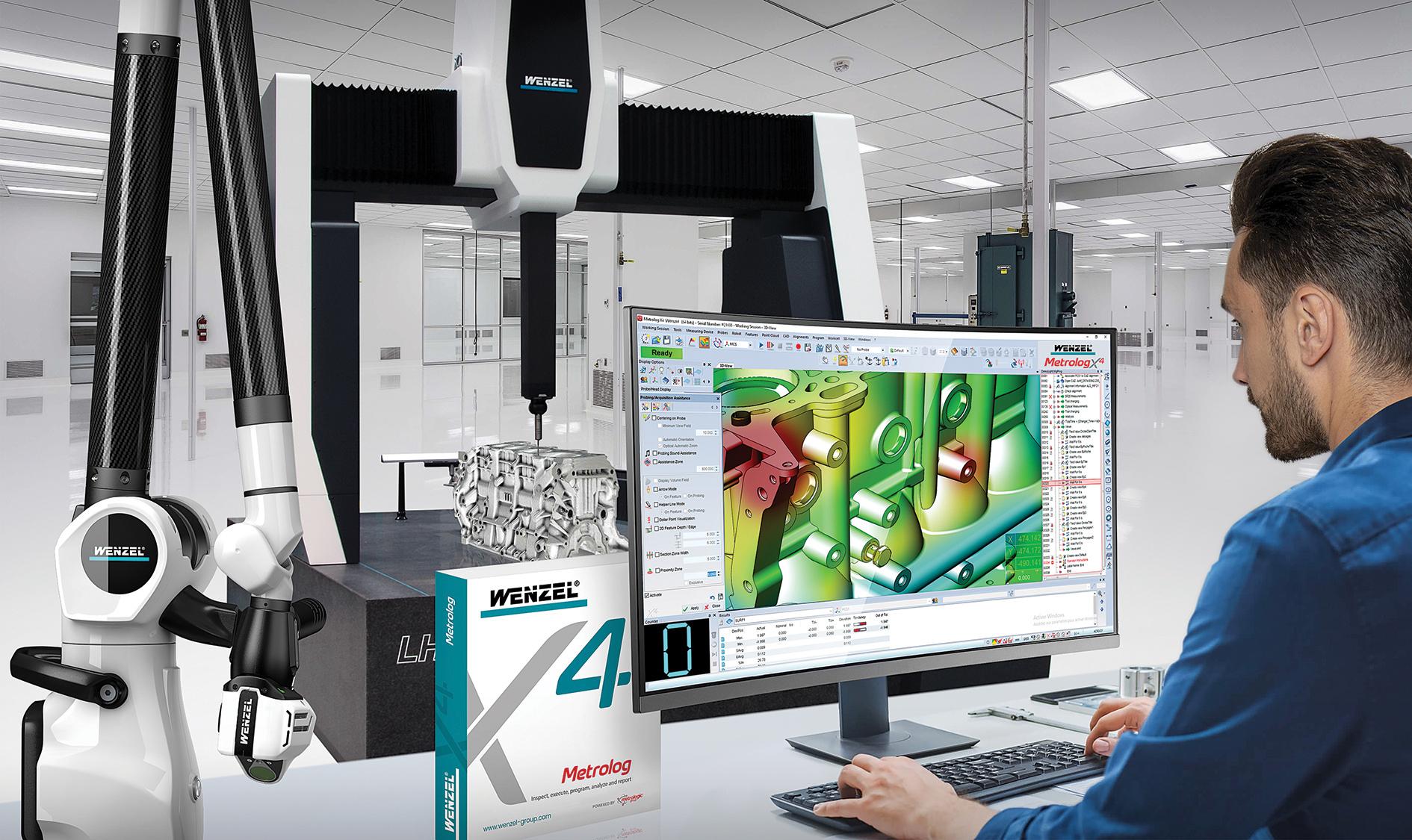 Les MMT Wenzel optimisées avec les solutions Metrologic