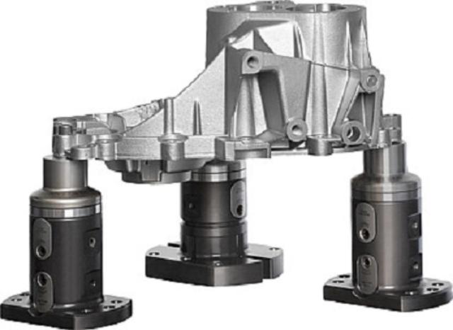 Système de bridage UNI lock 5 axes sans bords génants