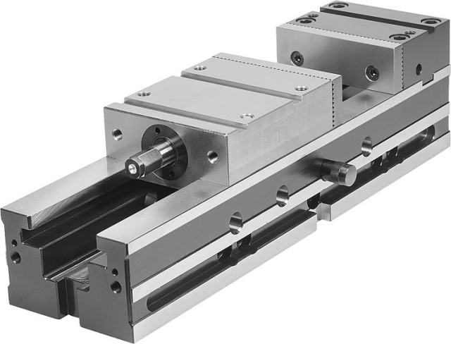 Étau de bridage CNC, largeur de mors 125 mm