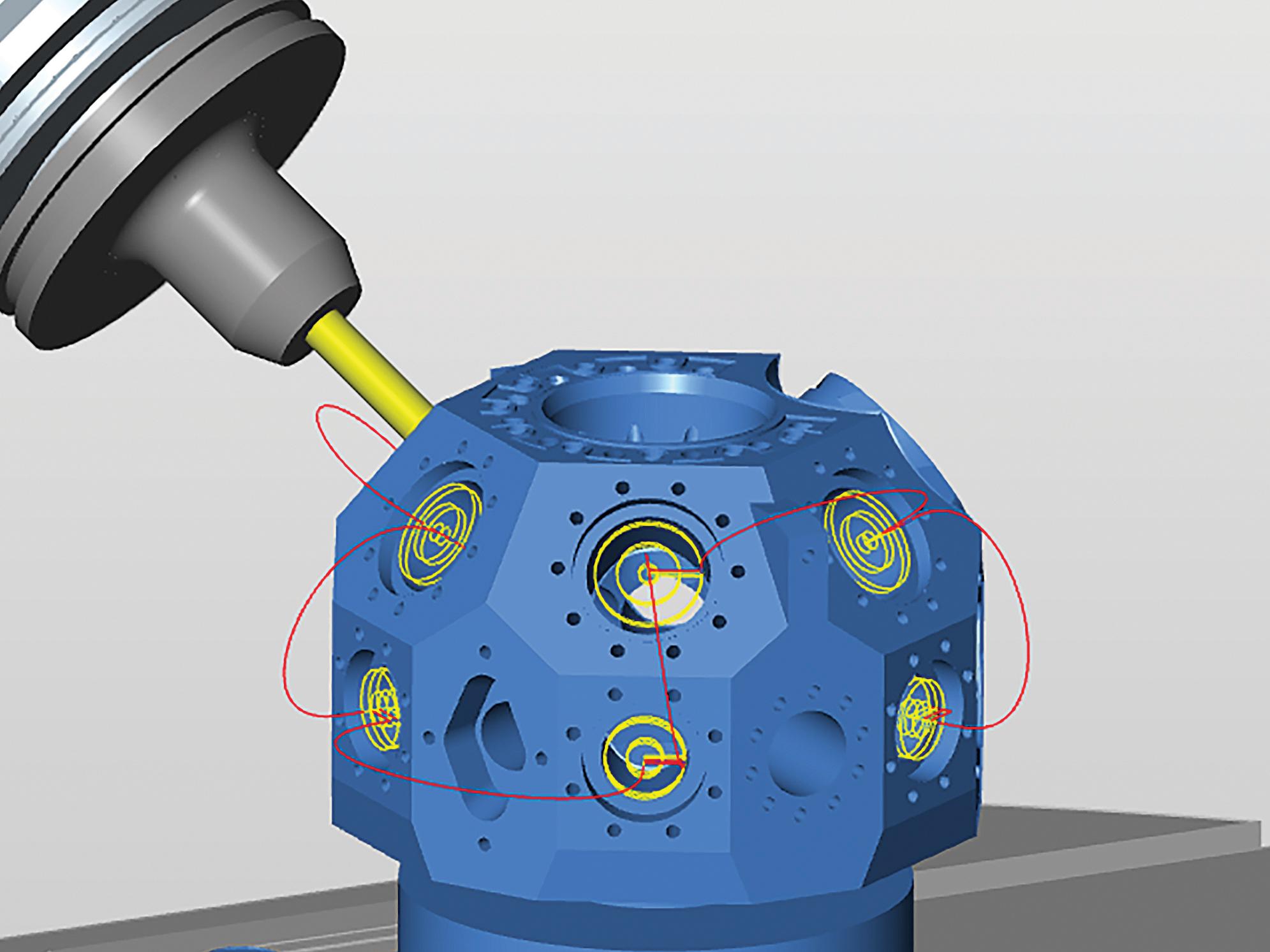 Un module pour une sécurité optimale dans l'usinage 5 axes