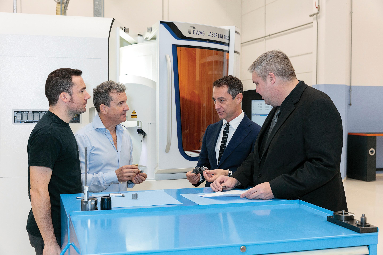 Excellence italienne dans les outils PCD usinés par laser