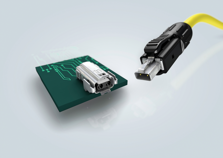 La transmission Ethernet industriel avec Harting