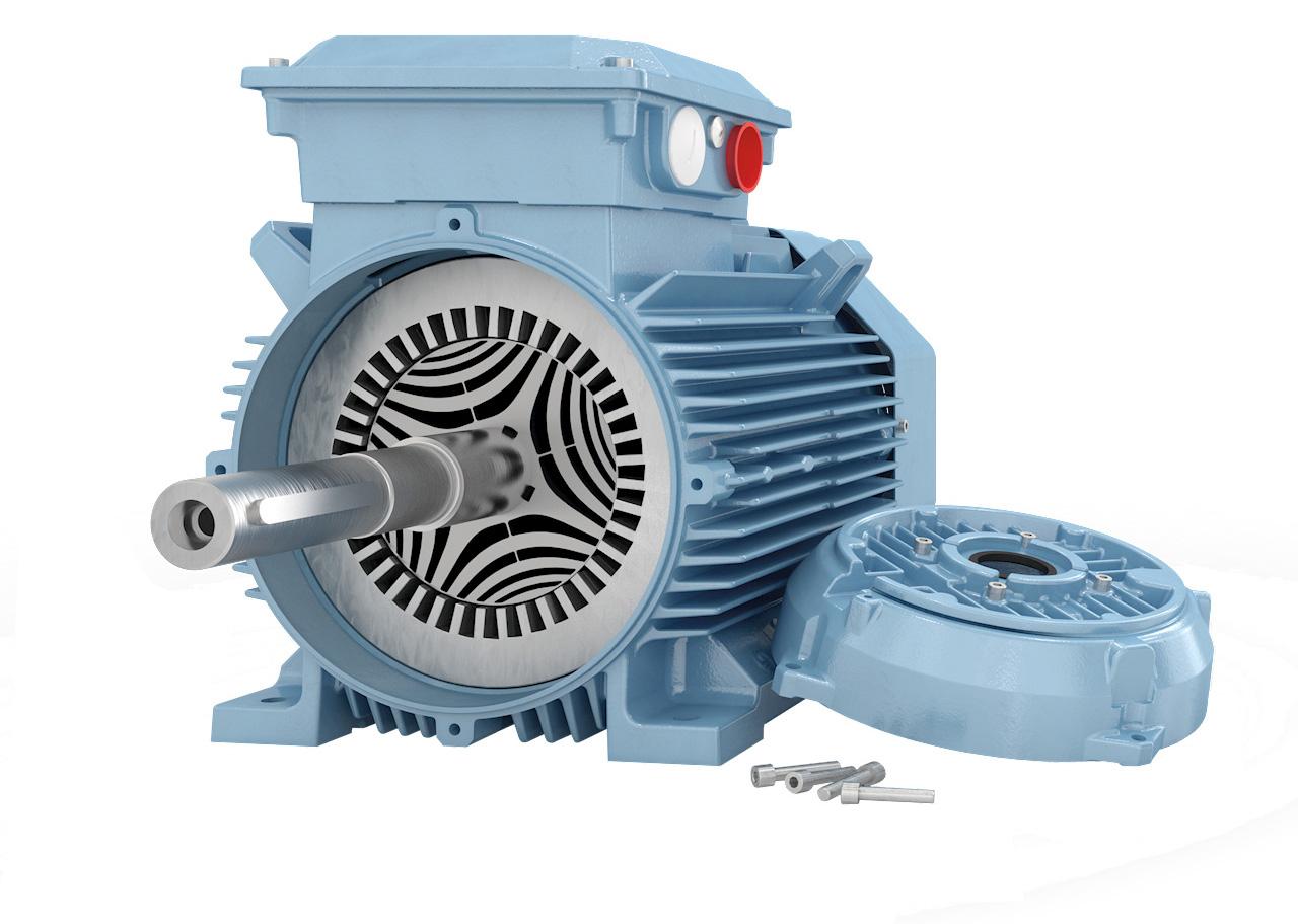 Moteurs électriques ABB pour économiser l'énergie