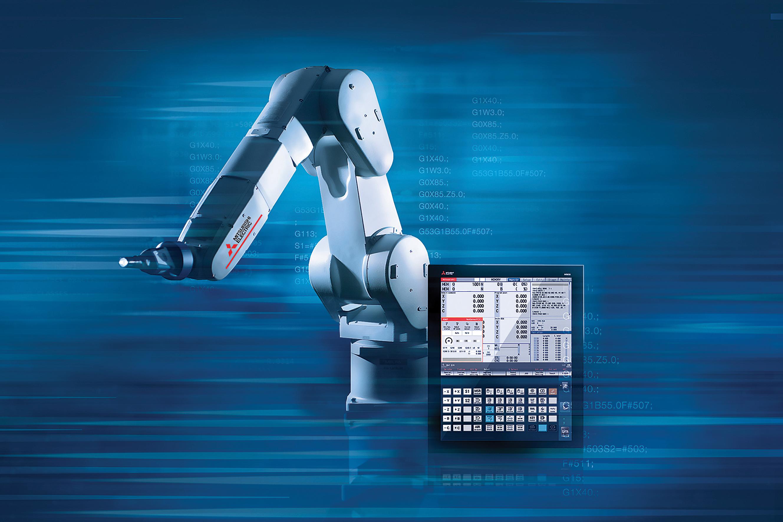 Intégration robotique facilitée sur les CNC Mitsubishi