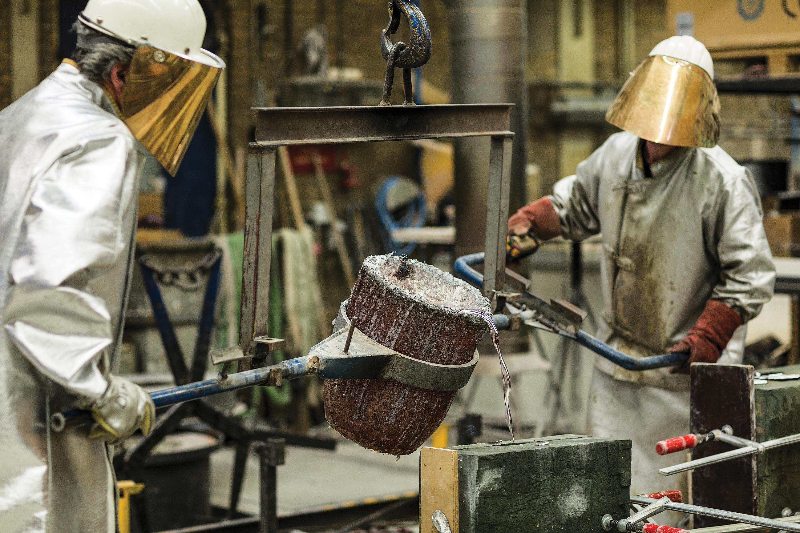 Métallurgie : la filière importe plus d'un million de masques