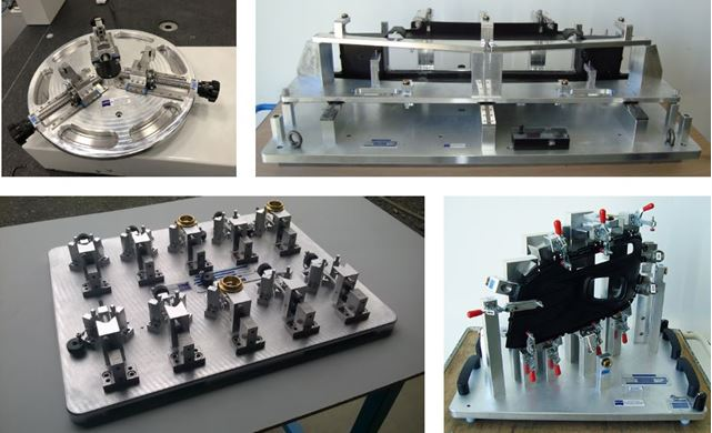 Des solutions pour la mise en référence, le maintien et le contrôle des pièces.