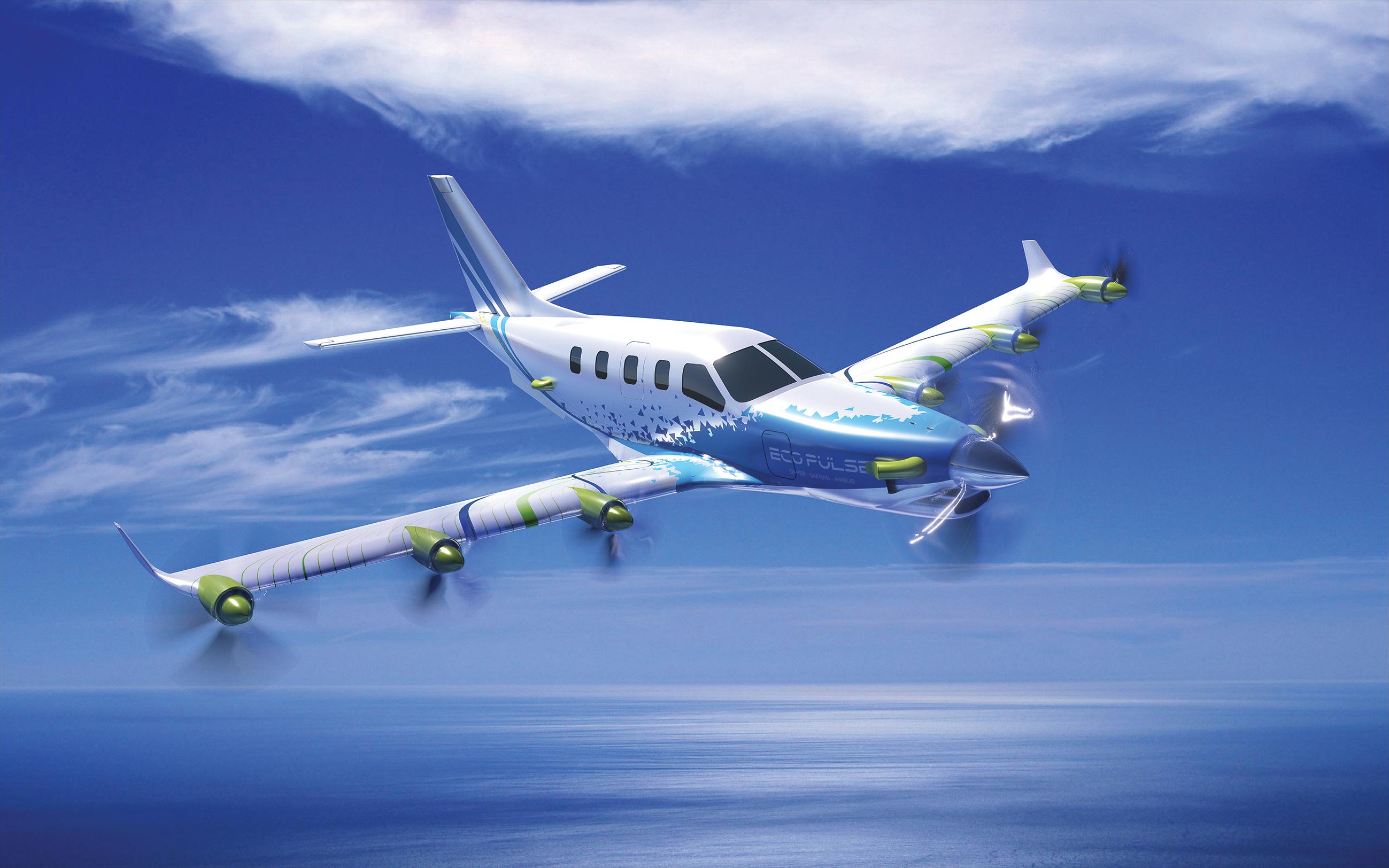 Un démonstrateur pour une aviation plus verte