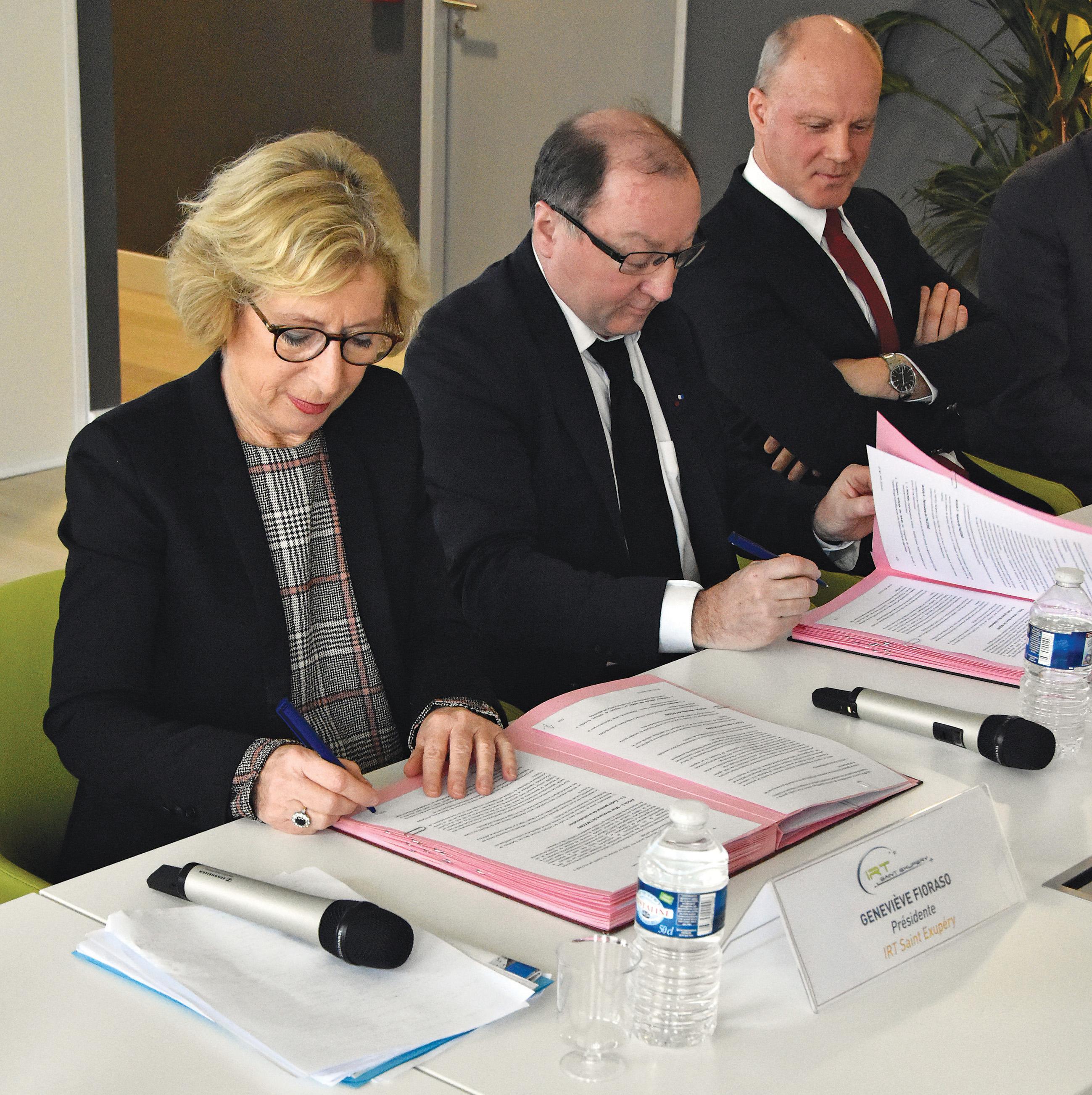L'Onera et l'IRT Saint-Exupéry, une collaboration renforcée