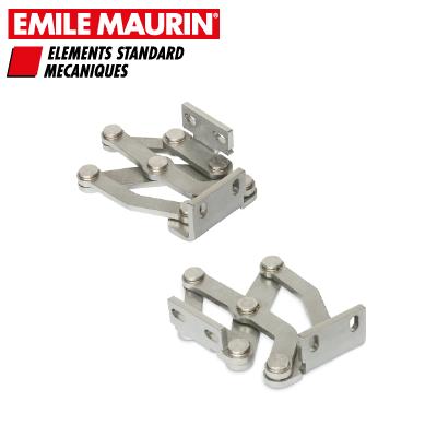 Charnière invisible Emile Maurin : ouverture à 180°