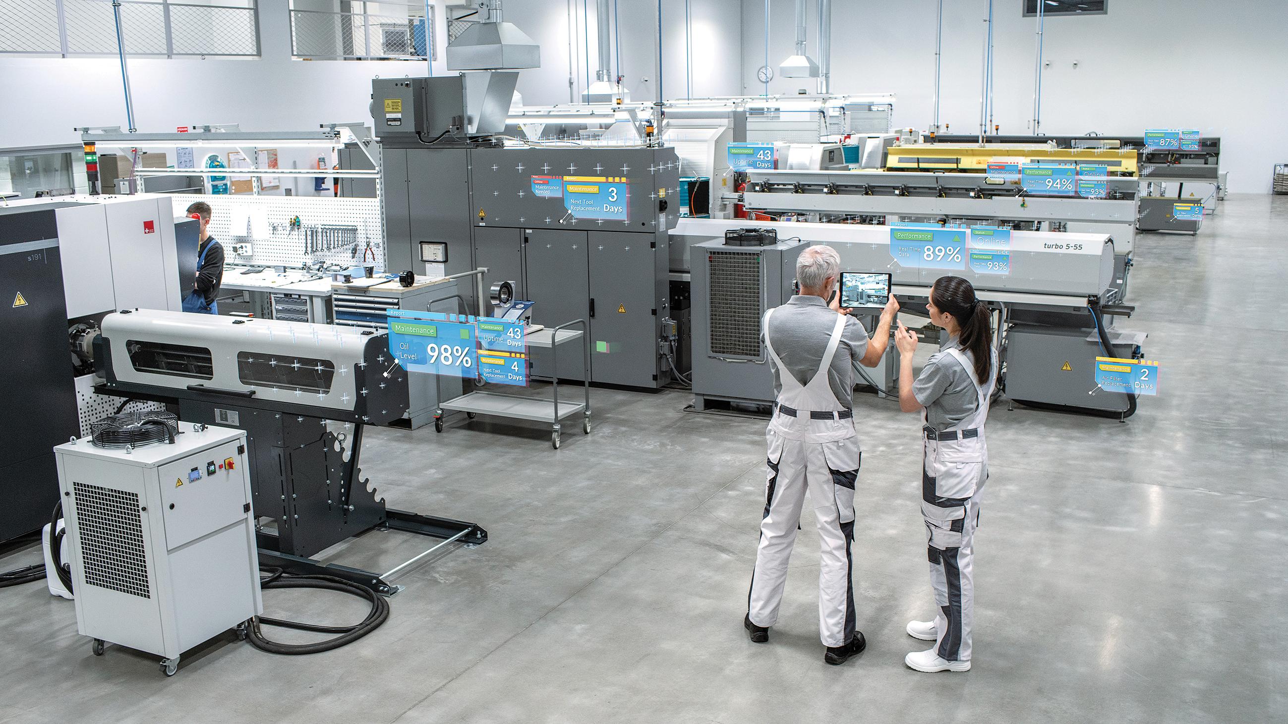 Une plateforme facilite le contrôle des machines connectées