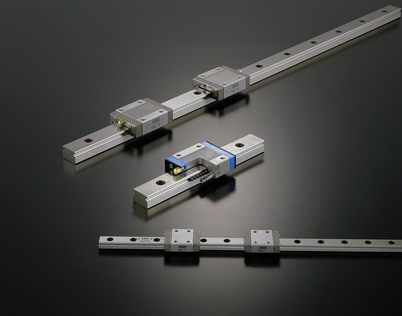 Des guidages linéaires miniatures à recirculation de billes