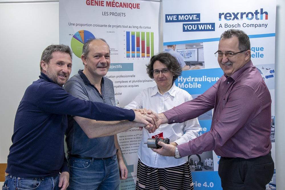 Capteurs inertiels et mécatronique à l'INSA Lyon