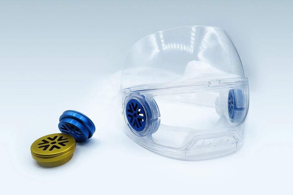 Un masque innovant, made in Haute-Savoie