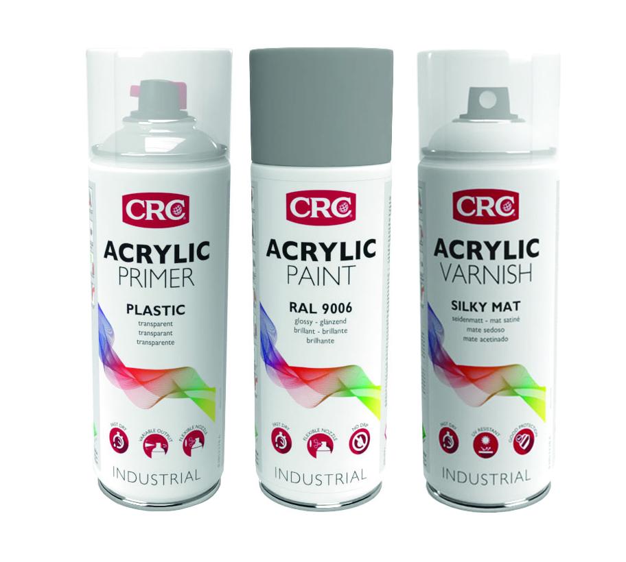 Peintures acryliques CRC Industries