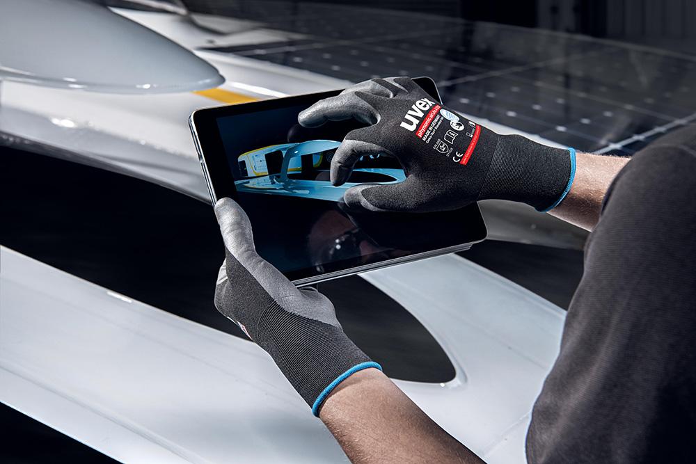 Gant de protection compatible écrans tactiles