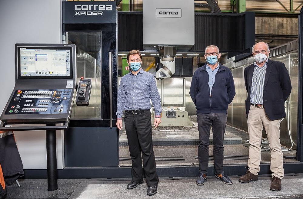 OTM modernise son outil de production avec l'Xpider, une fraiseuse portique « Gantry » du fabricant espagnol Correa