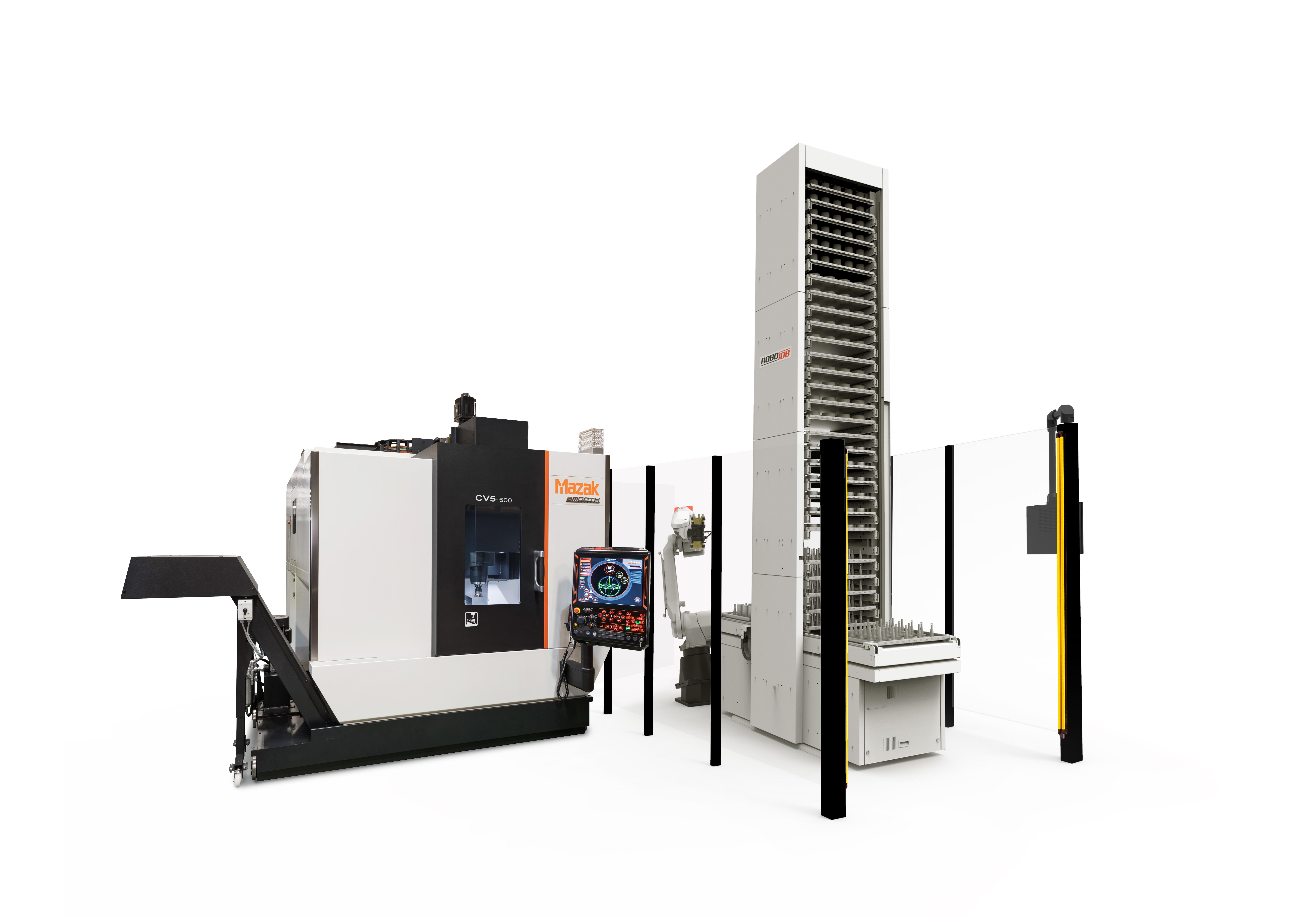 Automatisation de machines CNC