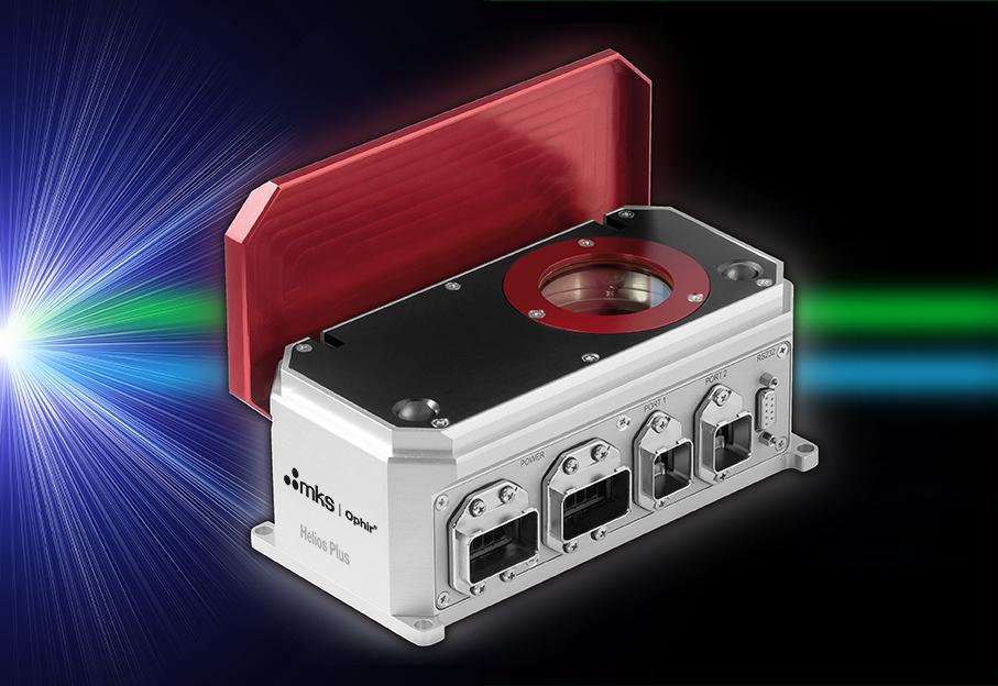Mesure automatisée des lasers bleus, verts et infrarouges