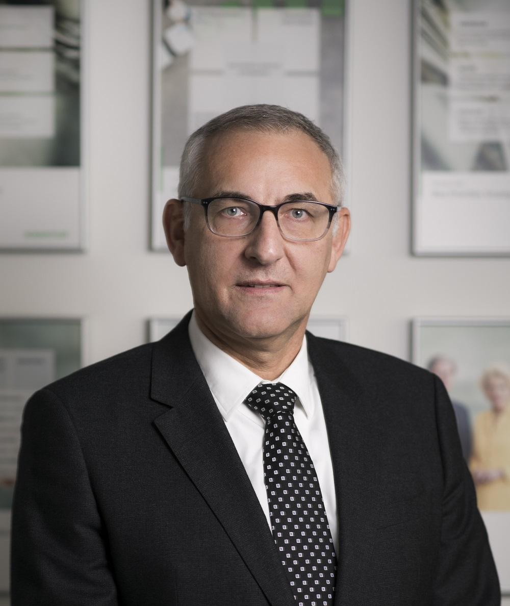 Denis Schmitt, le nouveau président de Schaeffler France