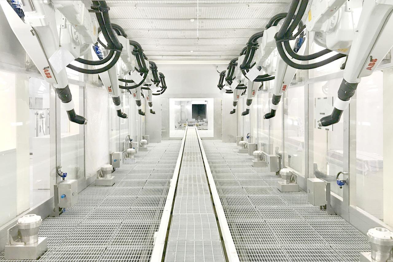 Ola déploie les solutions robotisées et d'automatisation ABB