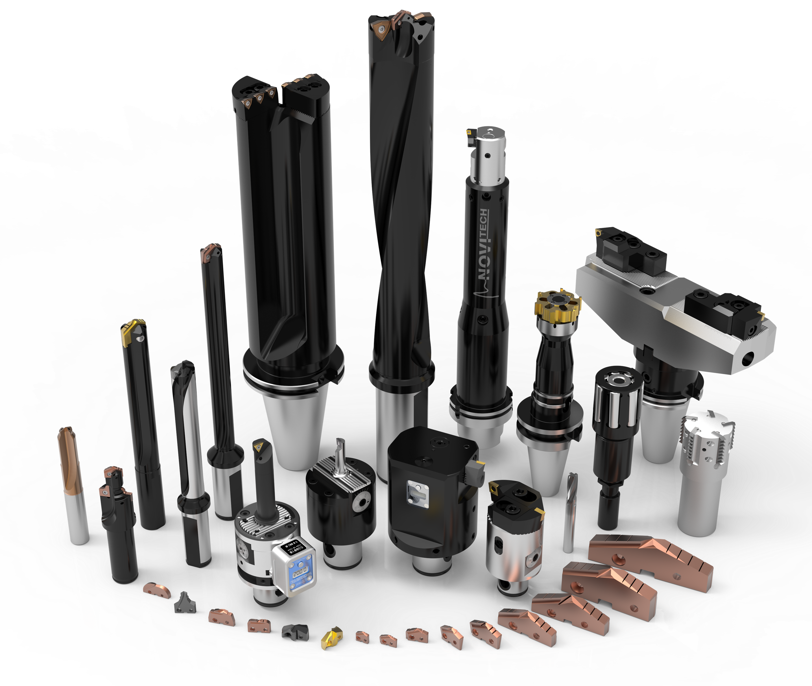 Des outils de perçage en stock