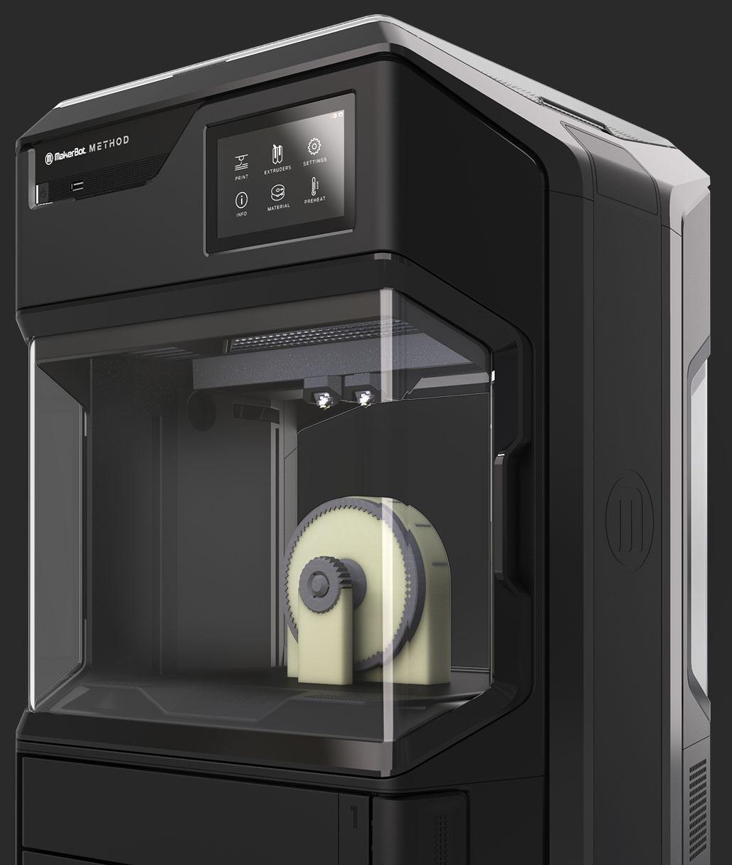 Les imprimantes 3D MakerBot Method compatibles avec le BASF Forward AM Ultrafuse 316L