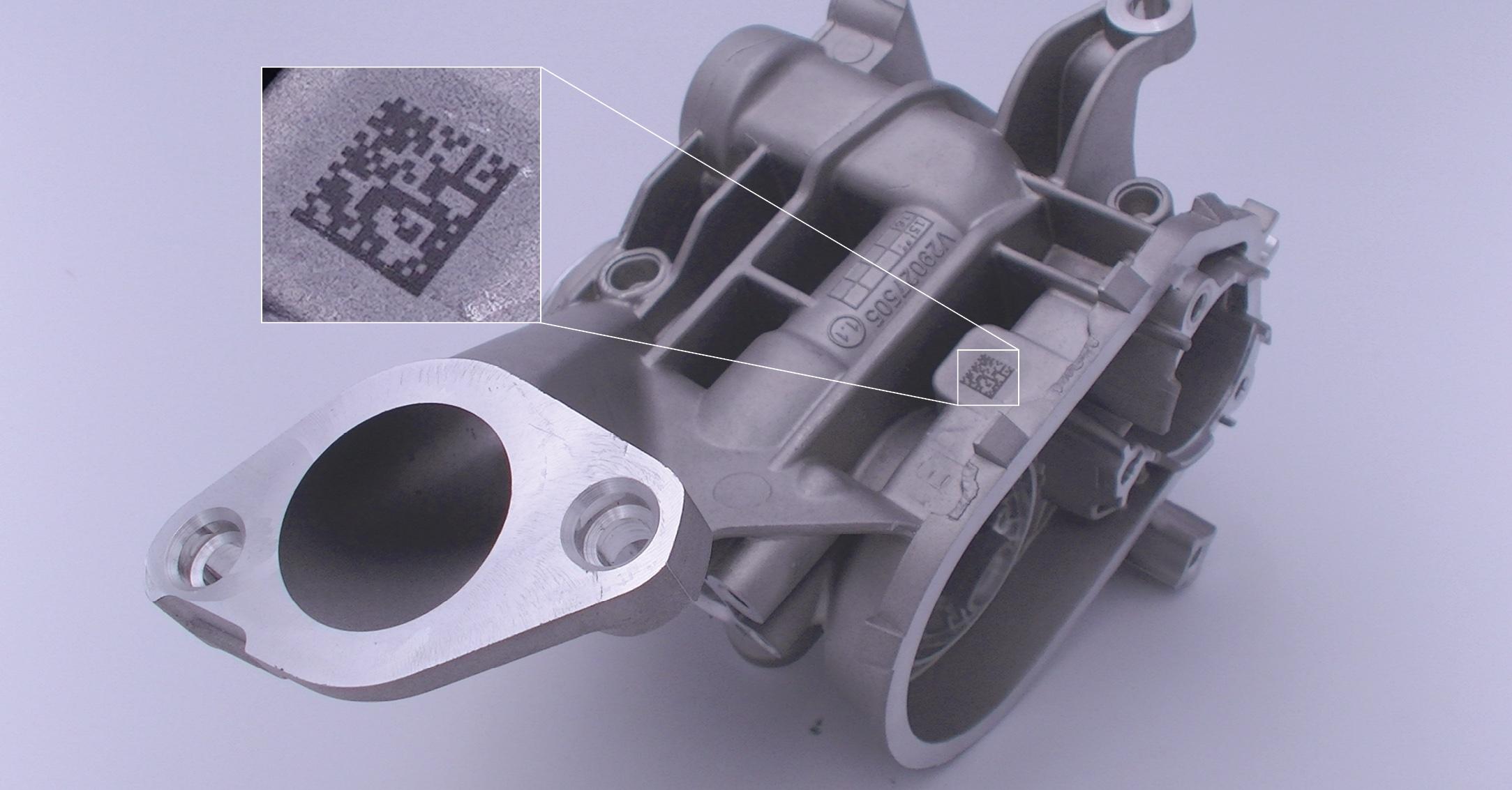 Marquage sur l'aluminium