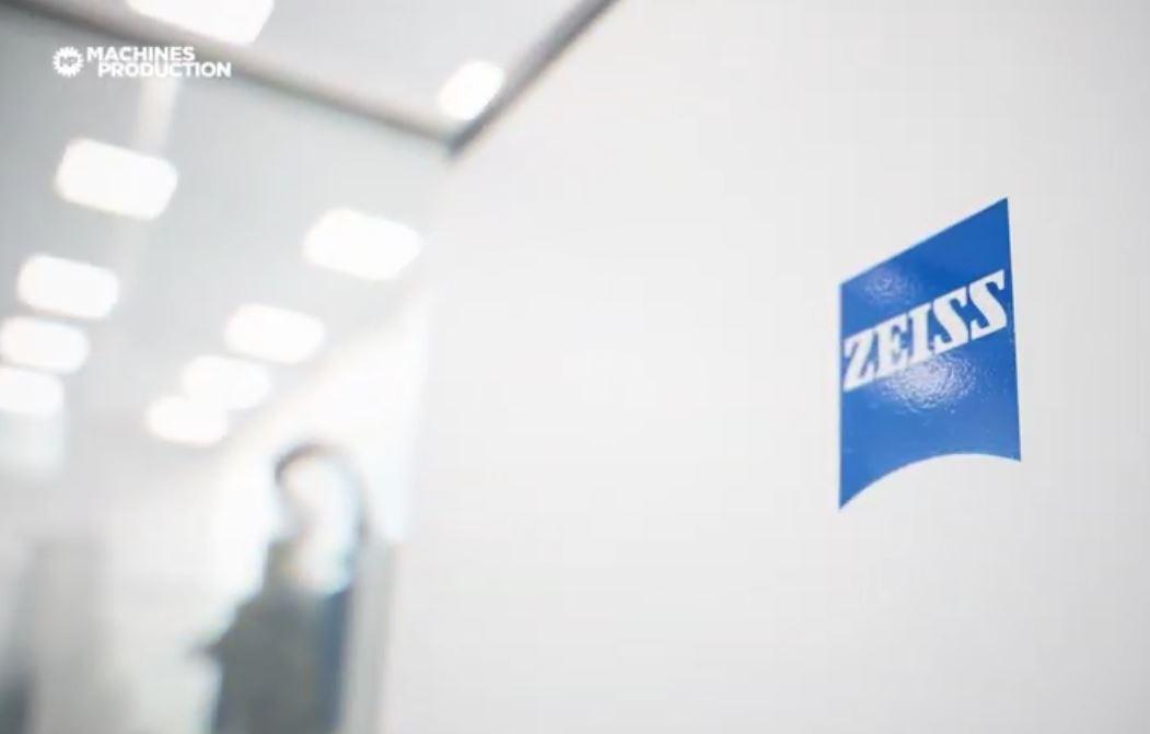 Focus vidéo Machines Production sur le centre de métrologie et microscopie Zeiss, QEC