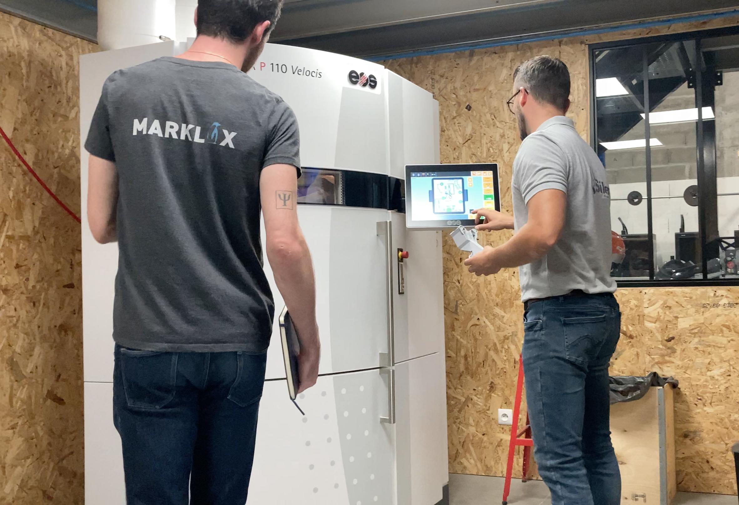 Marklix facilite l'impression 3D des pièces détachées