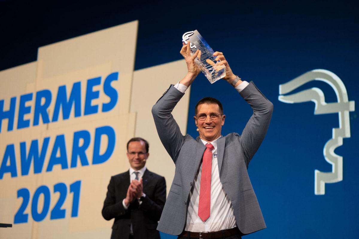 Bosch Rexroth remporte le prix Hermes 2021