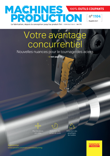 Couverture magazine Machines Production