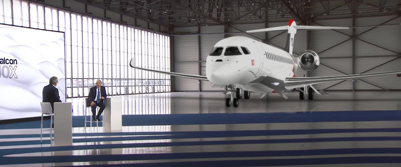 Dassault Aviation : un lancement inédit pour son nouveau Falcon