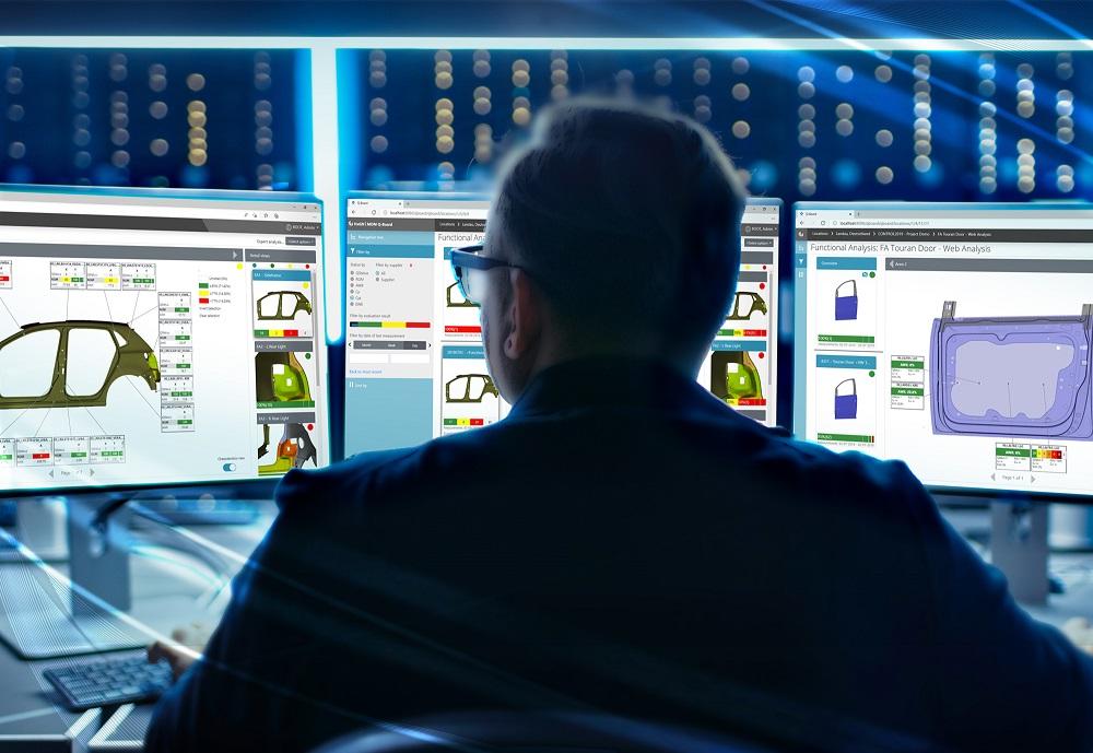 Un tableau de bord sur le Web pour l'analyse des données qualité
