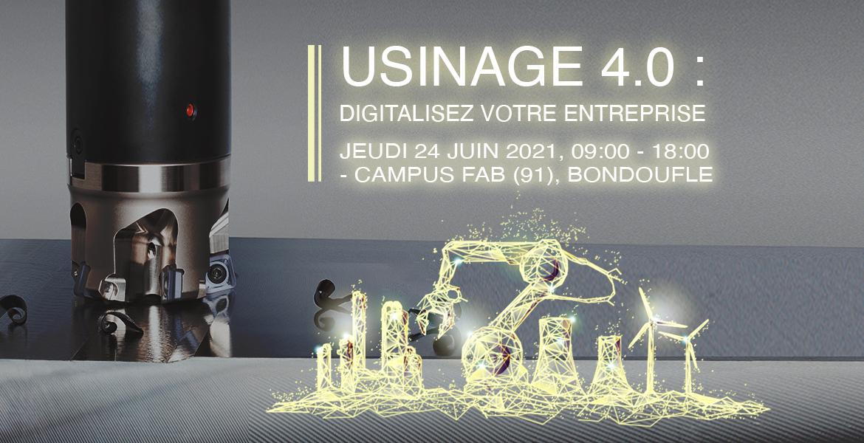 Usinage 4.0, digitalisez votre entreprise.