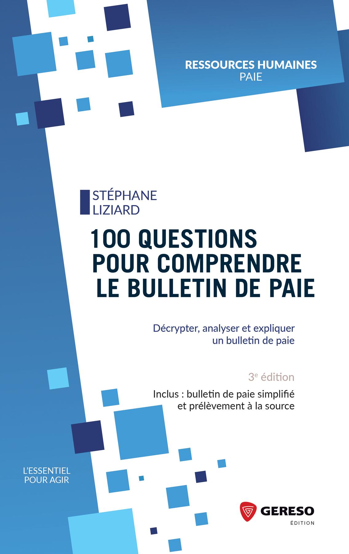[Livre] : 100 questions pour comprendre le bulletin de paie
