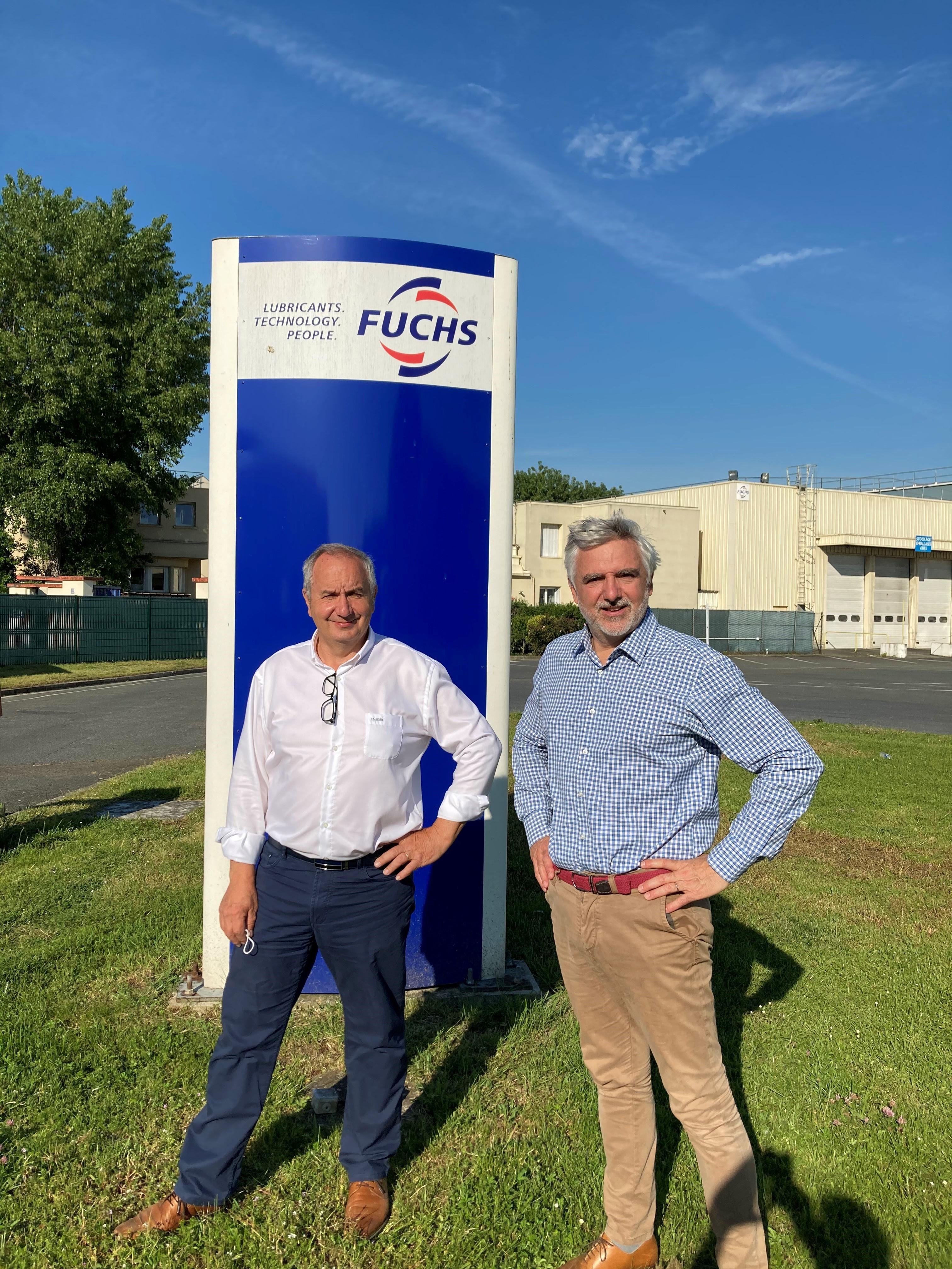 Fusion de Fuchs Lubrifiant et de Fuchs Lubritech